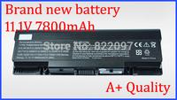 New 7800mAh Battery 312-0518 GK479 312-0577 FK890 312-0513 NR239 for Dell Inspiron 1520 1521 1720 1721 530s Vostro 1500 Series