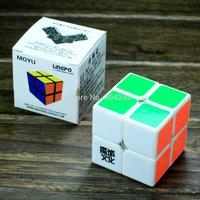 New Yongjun MoYu Lingpo 2x2 White Magic Cube 2x2x2 Speed Magic Cube 5.3cm Dedicated game Twist Puzzle Educational Toy Gift Toys