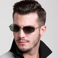 Male sunglasses polarized sunglasses fashion vintage sunglasses driving glasses in the box fishing glasses