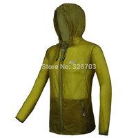 Jack MEN Skin dust coat Uv protection radiation protection jacket breathe freely   skiing outdoor sports coat tourism .
