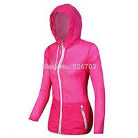 Women's Jack Skin dust coat Uv protection windproof Waterproof jacket breathe freely skiing outdoor sports coat tourism.