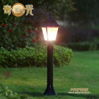 Black/Bronze110V/220V Outdoor led lawn lamp waterproof garden lights outdoor lamps streetlights tall-column