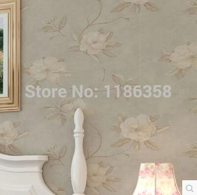Online kopen wholesale blauwe bloem behang uit china blauwe bloem behang groothandel - Muur kamer meisje ...