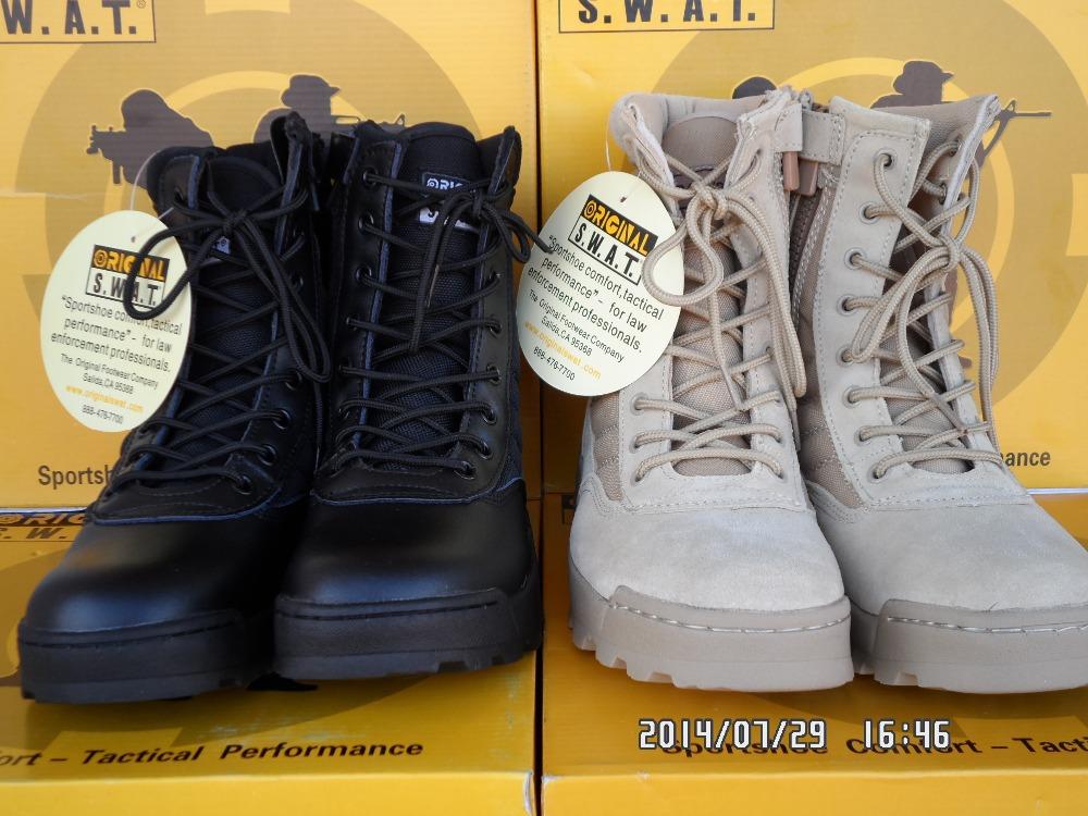 Verkauf 2014! Neue männer militärstiefel Spezialeinheiten taktische Desert combat stiefel outdoor-schuhe schneeboots Infanterie spezielle stiefel