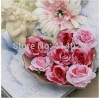 300pcs/Lot  3-5CM Diameter Silk Rose Flower Head Decoration Handmade Diy Wedding Home Decor