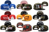 High quality! Free shipping! TruckFit snapback flat brimmed hat adjust the hip-hop hat hiphop hip-hop cap baseball cap20style