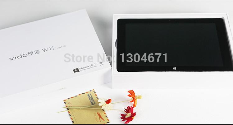 Yuandao Vido W11 Windows 3G Tablet PC Intel Quad Core 10 1 inch IPS 2GB RAM