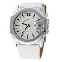 2014 NEWEST DZ1405/1295 super brand military women men watches SPORT casual Bracelet luxury leather oversize Wristwatch
