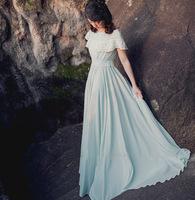 wholesale 2014 women vintage elegant floor-length dress