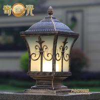 Villa courtyard wall light column head wall light square pillar lamp the door fashion outdoor lamp waterproof IP65