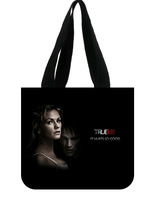 New Custom True Blood Tote Bag  100% Cotton Canvas