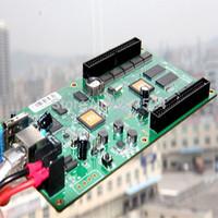 rgb video led display controller card asynchronous wifi,3g,internet HD-C3,no need sending card