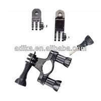 Free shipping 10pcs/lot SJ4000 Bicycle Handlebar,Gopro bikee handlebar with Three Way Adjustable Pivot Arm,GP02