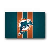 Special Custom Dolphins Doormat indoor/outdoor mats Size 24x16