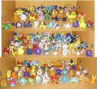 Wholesale 144pcs/set Pokemon PVC Mini Action Figures Toys 2-3cm Free Shipping