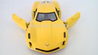 Free shipping metal model car chevrolet corvette diecast allloy sports racing ars toys for children gift