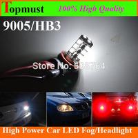 Free shipping 10pcs x 9005 hb3 led Headlight bulbs Canbus Light White 6000K 540LM  Car LED Fog Light Car Fog