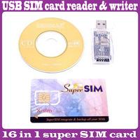 2 pcs/Lot _ Super SIM Card Reader Writer Cloner Edit Copy Backup GSM CDMA USB Kit