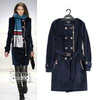 New 2014 Winter Jacket Women Coats Thick Winter Coat Women Parkas 3 Color Coat Fur Collar high-end