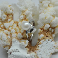 Low-cost supply of factory direct wholesale natural freshwater pearl ring