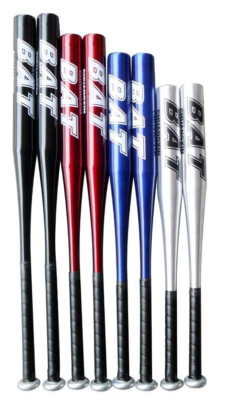 Free shipping 20 inch baseball bats aluminium alloy baseball bat sports blue,silver,red,black to mixed(China (Mainland))