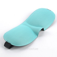 1Pc Free Shipping New Travel Sleep Rest 3D Eye Shade Sleeping Mask Cover Blinder Eye Shield Travel Sleeping Aid FMPJ094#S5(China (Mainland))