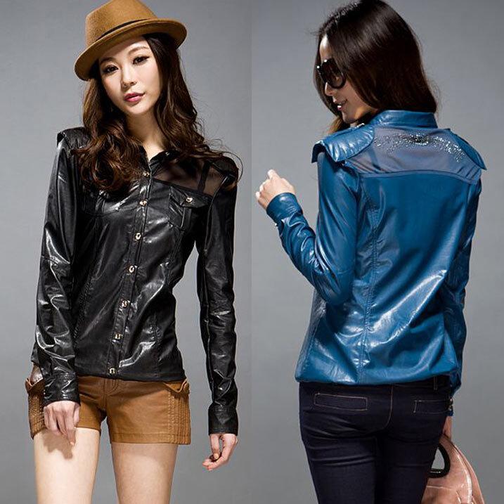 Модные Кожанные Куртки
