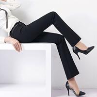2014 new design casual  Korea elastic slim fit OL office business career style  women's flare pants jeans leggings