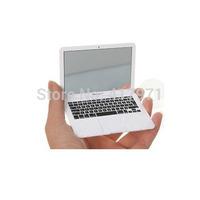 Popular apple laptop mini portable makeup mirror (1pc,2 colors available)