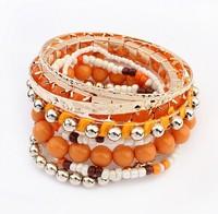 Europe and the United States national wind bracelet beads joker#107993
