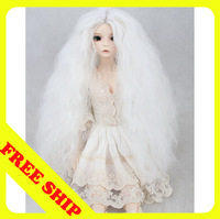 BJD doll wigs wig curls high-temperature wire BJD wig