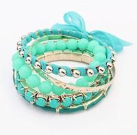 European and American fashion lace multilayer joker bracelet#107999