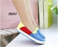 Birdthree good quality women canvas shoes light weight colorful huarache womens flat shoes women's flats