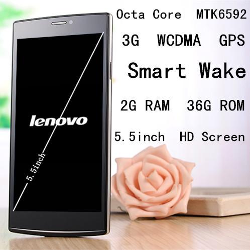 Lenovo nuevo teléfono me s820 mtk6592 octa núcleo 3g gps inteligente wake 36g rom 5.5 ips pulgadas 13mp hd de pantalla de china teléfono inteligente android unlockd