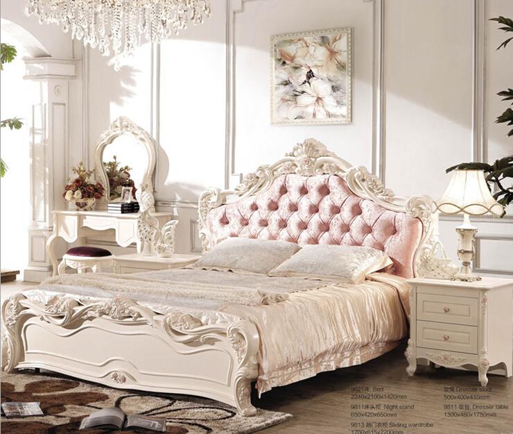 Online kopen wholesale franse bedden uit china franse bedden groothandel - Volwassen slaapkamer stijl ...