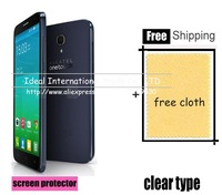 For Alcatel One Touch Idol 2 6037K 6037Y 6037I 6037B screen protector film guard,with retail package,high quality+3pcs/lot
