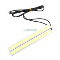 2pcs Waterproof White Car Auto LED Lights Fog Driving Lamp 12V 17.3cm Hot New