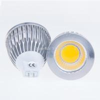 Wholesaes 500pcs  MR16 socket 6W 9W 12W COB LED Bulb Light Spotlight 12V 60 degree angle For Home illumination