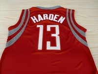 Free Shipping New Material Top Quality Hot Sale Houston Harden  #13  Embroidery Basketball Jersey for Mens Size S-2XL