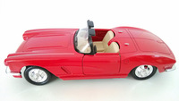 Free shipping red color classic car model alloy vintage cars with pull back function diecast metal models cars