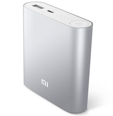 50PCS/LOT Genuine XiaoMi 10400mah Power Bank External Battery Portable Charger FREE SHIPPING BY TNT/DHL/FEDEX WHOLESALE AVAIBLE(China (Mainland))