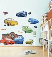 Children Room Cars Art Mural Wall Decor Decals Decorative Stickers
