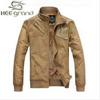 2014 New Arrival Men's Patchwork Fashion Jacket Cotton Coat Fur Inside Free Shipping MWJ345