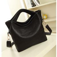 2015 Casual  women's PU leather handbag fashion women's shoulder bag handbag large bag cross-body leather bag