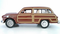 Brown color metal old car diecast ancient cars models with doors can be opened classic style car collection also kids toys cars