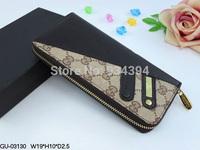 Mens Long Wallets Ladies Fashion Female Brand Designer Women Clutch Patent Leather Purses Bolsas Femininas High Quality On Sale