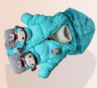 2014winter children silk cotton coat for girls and boys,3D cute girl pocket & pattern jacket coat ,children clothingLT-004