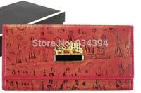 Egypt Akhnaton Pharaoh Design Brand Designer Fashion Female Vintage Wallets For Women Carteira Feminina Bolsas Clutch Purses