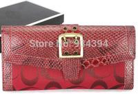 Ladies Evening Bags Snake Leather Brand Designer Fashion Female Vintage Wallets For Women Carteira Feminina Bolsas Clutch Purses