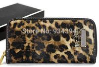 Leopard Print Ladies Evening Bags Brand Designer Fashion Female Vintage Wallets For Women Carteira Feminina Bolsas Clutch Purses